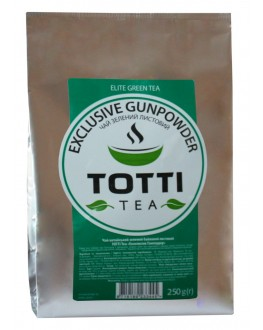 Чай TOTTI Exclusive Gunpowder Эксклюзив Ганпаудер 250 г ф/п (8719189233445)