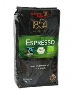 Кофе SCHIRMER Espresso Bio зерновой 1 кг (4007611158201)