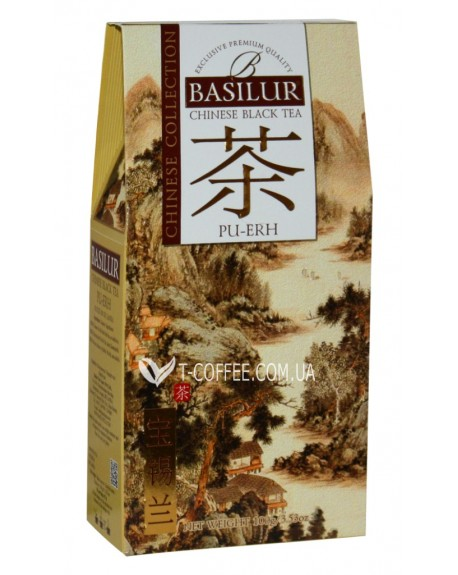 Чай BASILUR Pu Erh Пу Эр - Китайская 100 г к/п (4792252936805)