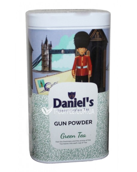 Чай Daniel's Gun Powder Green Tea 100 г ж/б (4796017690537)