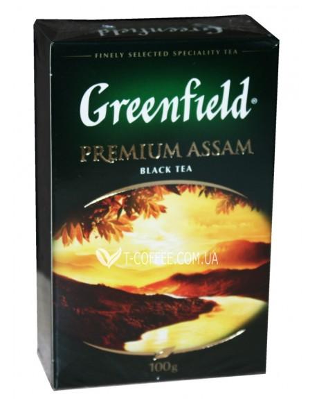 Чай Greenfield Premium Assam Ассам 100 г к/п (4823096801261)