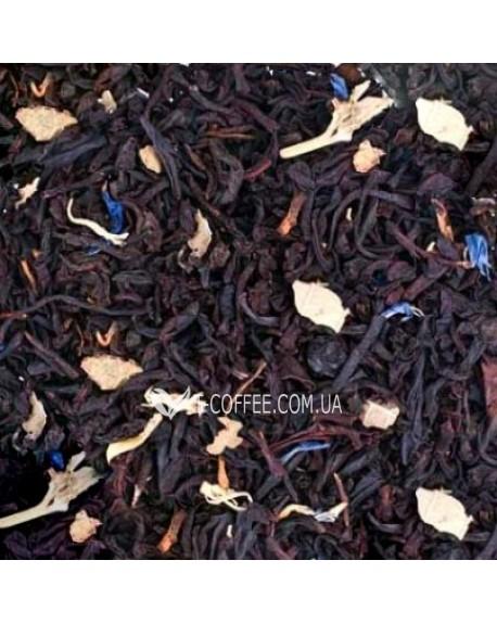 Черничный с Ароматом Йогурта Премиум черный ароматизированный чай Країна Чаювання 100 г ф/п