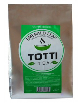 Чай TOTTI Emerald Leaf Изумрудный Лист 250 г ф/п (8719189233384)
