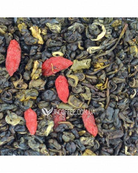 Кощей Бессмертный зеленый ароматизированный чай Світ чаю