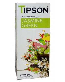 Чай TIPSON Jasmine Green Жасмин 25 х 2 г (4792252931374)