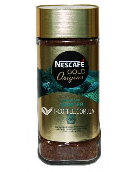 Кофе NESCAFE Gold Origins Indonesia Sumatra растворимый 100 г ст. б. (7613036444255)