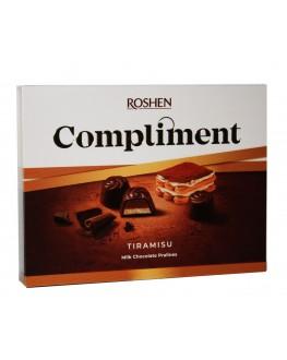 Цукерки ROSHEN Compliment Tiramisu 120 г в коробці (4823077629426)