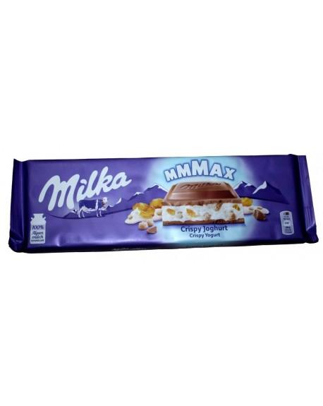 Шоколад Milka MAX Crispy Yogurt Хлопья Йогурт 300 г (7622400904608)