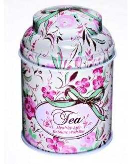 Банка Tea Рожева жерстяна 80 г