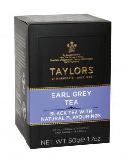 Чай TAYLORS Earl Grey Tea Эрл Грей 20 х 2,5 г (615357118874)