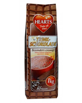 Горячий шоколад HEARTS Trink Schokolade 1 кг (4021155108645)