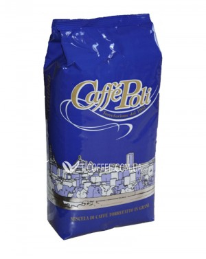 Кофе POLI Extrabar зерновой 1 кг (8019650000201) фото