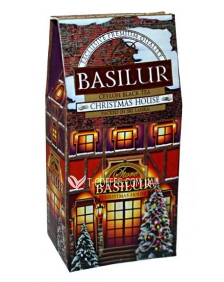 Чай BASILUR Christmas House Рождественский Домик - Домики 100 г к/п (4792252927285)