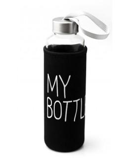 Бутылка My Bottle для напитков стеклянная 500 мл