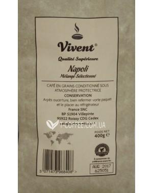 Кофе Vivent Napoli зерновой 400 г (3071473968408)