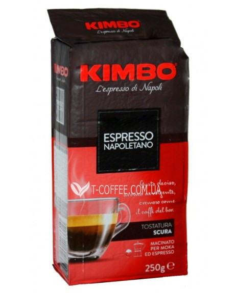 Кофе KIMBO Espresso Napoletano молотый 250 г (8002200602116)