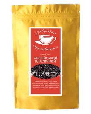 Английский Классический черный классический чай Країна Чаювання 100 г ф/п