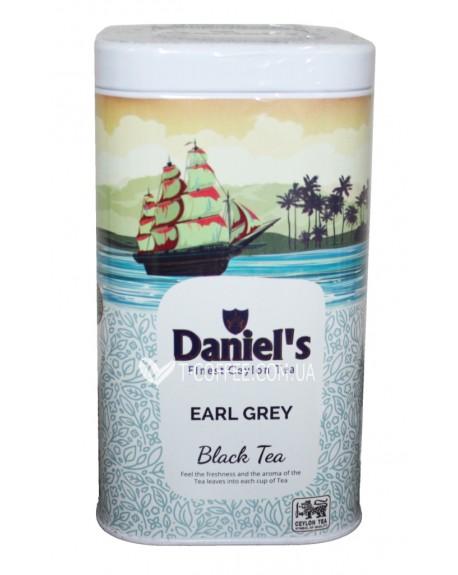 Чай Daniel's Earl Grey Black Tea 100 г ж/б (4796017690520)