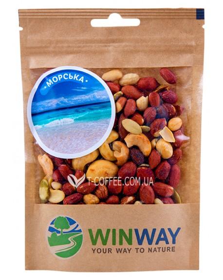 Ореховая смесь WINWAY Морская 100 г (4821912900334)