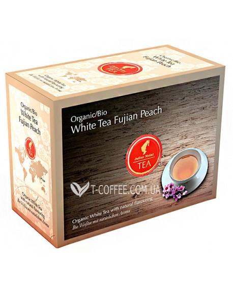 Чай Julius Meinl Bio White Tea Fujian Peach Фуцзянь Персик 20 x 3,25 г (9000403832575)