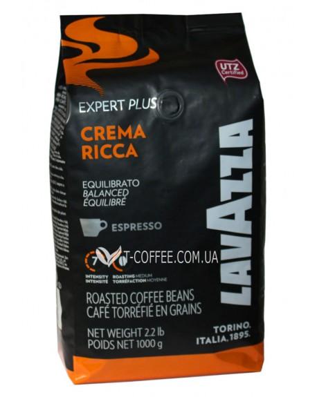 Кофе Lavazza Expert Plus Crema Ricca Espresso зерновой 1 кг (800070008564)