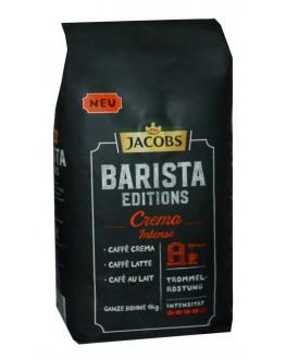Кофе JACOBS Barista Editions Crema Intense зерновой 1 кг (8711000415399)