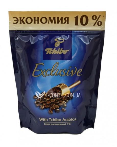 Кофе Tchibo Exclusive растворимый 75 г эконом. пак. (4607066401862)