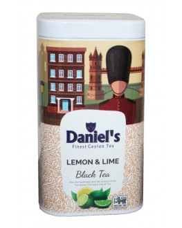 Чай DANIEL'S Lemon Lime Black Tea 100 г ж/б (4796017690551)