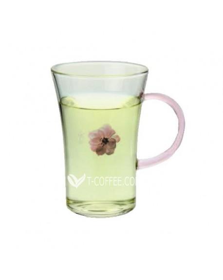 Чашка Цветок Сакуры стеклянная 250 мл