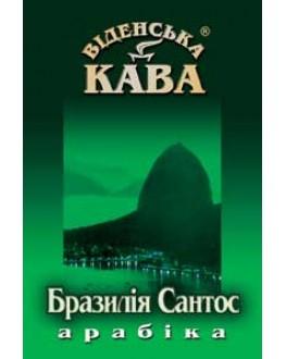 Кофе ВІДЕНСЬКА КАВА Арабика Бразилия Сантос зерновой 500 г