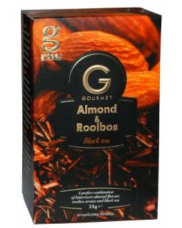 Чай GRACE! Gourmet Almond Rooibos Мигдаль Ройбуш 20 х 1,75 г (5060207697330)