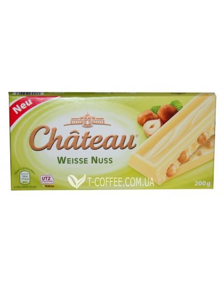 Шоколад Chateau Weisse Nuss Белый Лесной Орех 200 г (29090426)