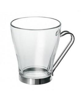Набор чашек BORGONOVO Debora стеклянный 3 х 240 мл