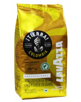 Кофе LAVAZZA Tierra Colombia Aromatic зерновой 1 кг (8000070017412)