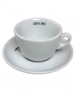 Набор чашек с блюдцами BLASER CAFE Lilla E Rose для эспрессо на 6 персон