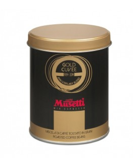 Кофе MUSETTI Gold Cuvee зерновой 250 г ж/б (8004769234166)