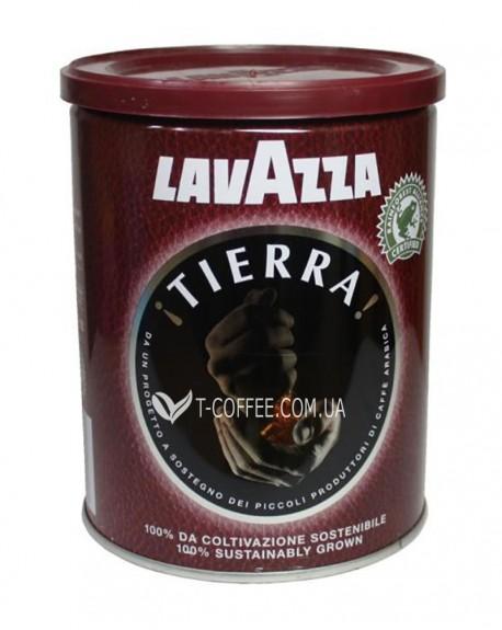 Кофе Lavazza Tierra молотый 250 г ж/б