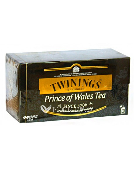 Чай TWININGS Prince of Wales Tea Принц Уэльский 25 х 2 г (070177078799)