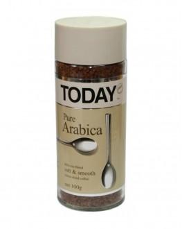 Кава TODAY Pure Arabica розчинна 95 г скл. б. (5014776102061)