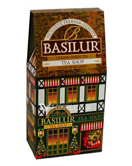 Чай BASILUR Tea Shop Чайный Магазин - Домики 100 г к/п (4792252927292)