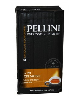 Кава PELLINI Espresso Superiore Cremoso мелена 250 г (8001685122362)