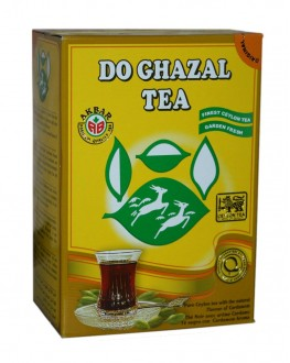 Чай AKBAR Do Ghazal Pure Ceylon Tea Cardamom 500 г к/п (5014176007737)