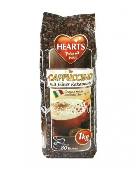 Капучино Hearts Kakaonote Какао 1 кг (4021155043809)