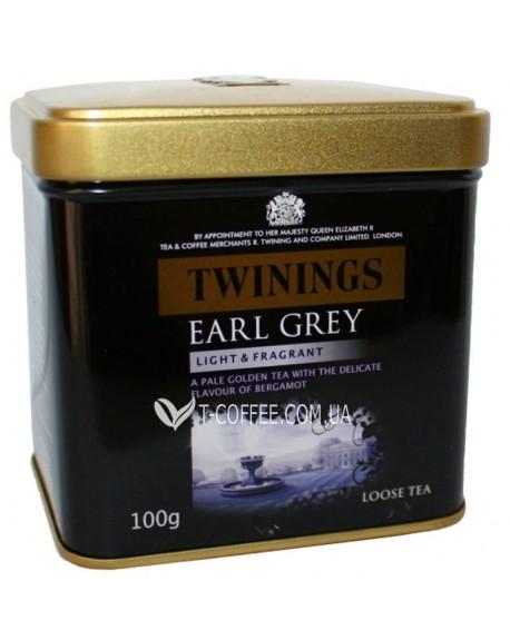 Чай TWININGS Earl Grey Эрл Грей 100 г ж/б