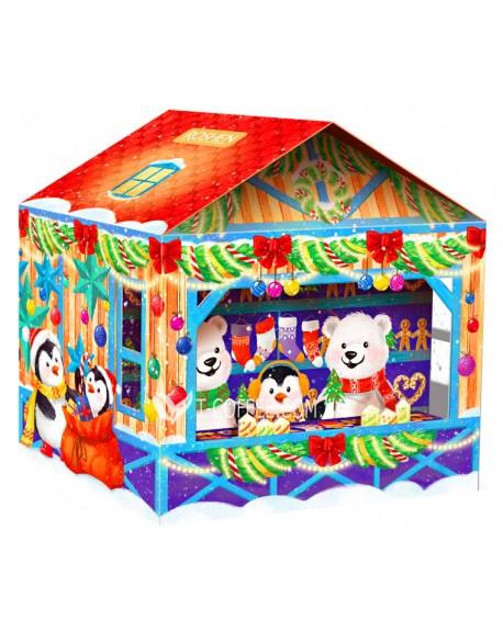 Новогодний подарок Roshen №10 Рождественская Ярмарка 496 г (4823077628245)