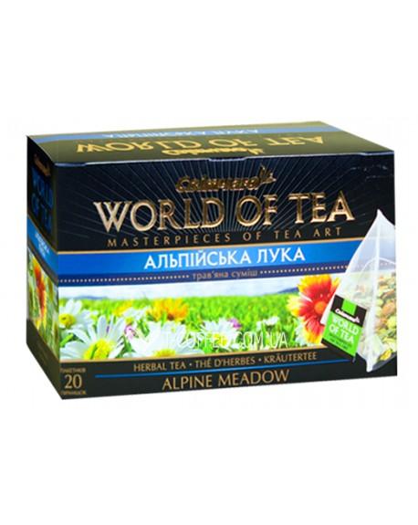 Альпийский Луг травяной чай Світ чаю 20 х 5 г