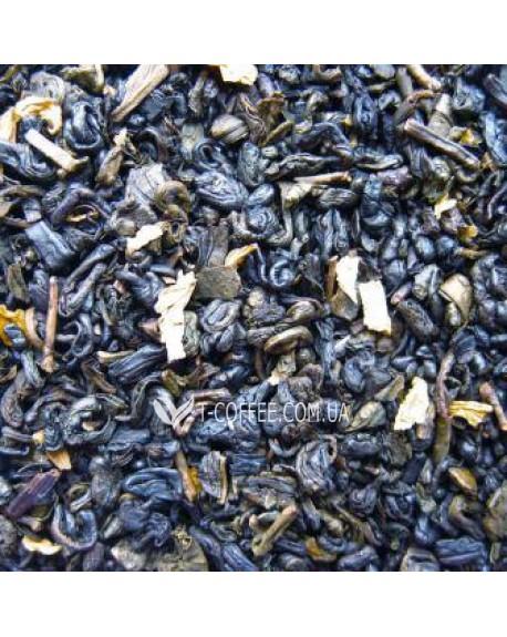 Зеленый с Ароматом Сливок зеленый ароматизированный чай Чайна Країна