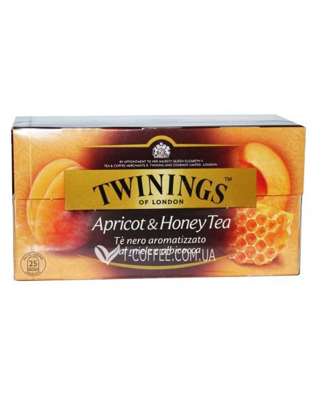 Чай TWININGS Apricot Honey Абрикос Мед 25 х 2 г (070177140038)