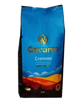 Кава CAVARRO Cremoso зернова 1 кг (4820235750053)