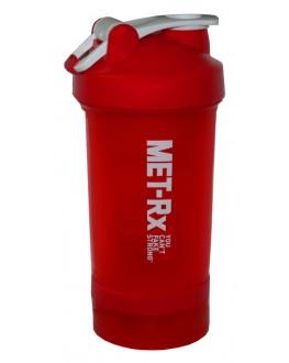 Бутылка-шейкер MET-RX красная 450 мл